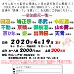 まさるや2020春 日本酒呑んでる会in町田